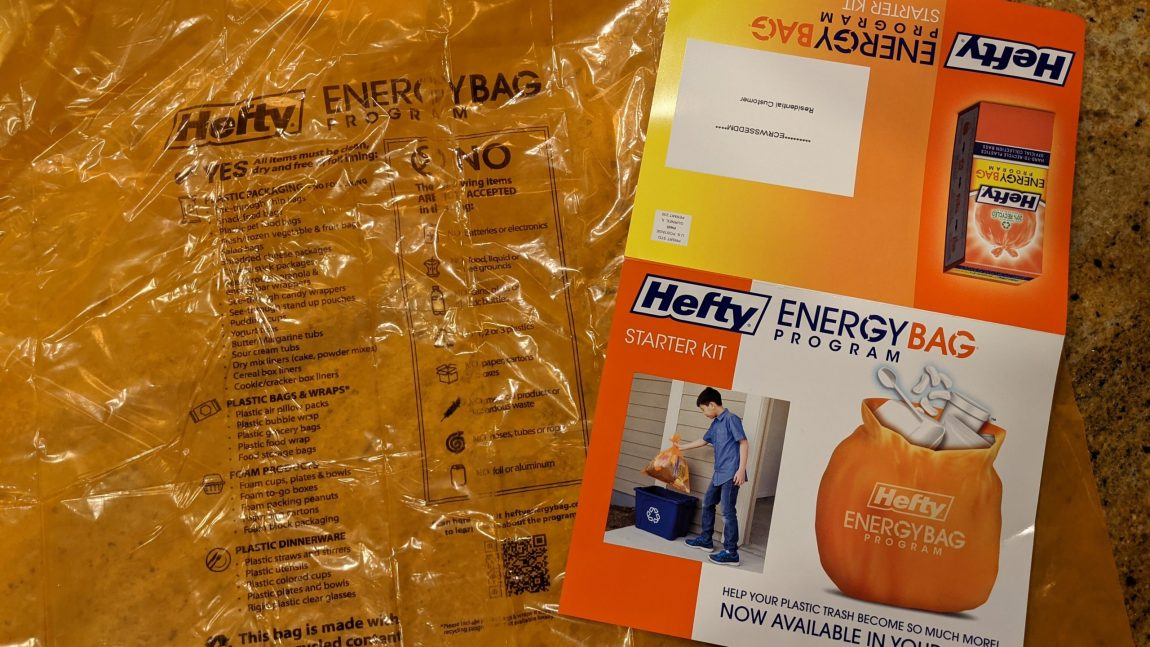 All About the Hefty EnergyBag Program in Gwinnett